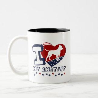 Americano Staffordshire Tazas De Café