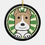 Americano Stafforshire Terrier Adornos