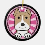 Americano Stafforshire Terrier Ornamento De Navidad