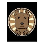 Americano Stafforshire Terrier Postales