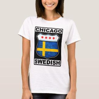 Americano sueco de Chicago Playera