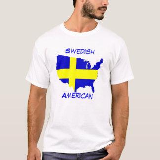 Americano sueco playera