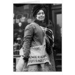 Americano Suffragette, 1910 Felicitacion