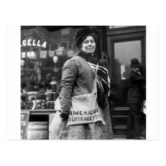 Americano Suffragette, 1910 Postal