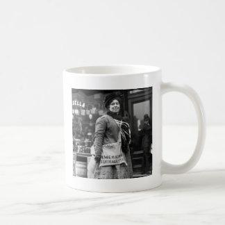 Americano Suffragette 1910 Tazas De Café