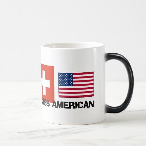 Americano suizo taza mágica