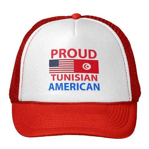 Americano tunecino orgulloso gorros bordados