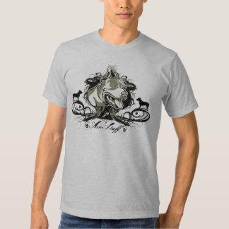 Americano urbano y artístico Staffordshir Terrier Playera