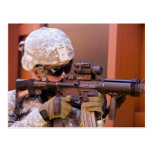 Americano Warfighter Tarjeta Postal