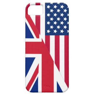 Americano y caso del iPhone 5 de la bandera de iPhone 5 Funda