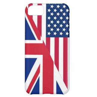 Americano y caso del iPhone 5C de la bandera de Funda Para iPhone 5C