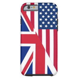 Americano y caso duro del iPhone 6 de la bandera Funda Para iPhone 6 Tough