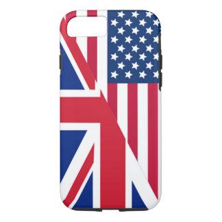 Americano y caso duro del iPhone 7 de la bandera Funda iPhone 7
