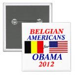 Americanos belgas para Obama Pins
