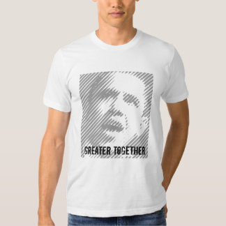 Americanos jovenes para Obama 2012 Camisas