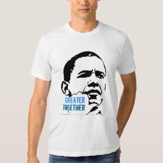 Americanos jovenes para Obama 2012 Remeras