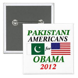 Americanos paquistaníes para Obama Pins