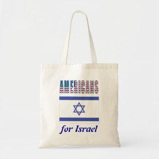 Americanos para el bolso de Israel Bolsa Tela Barata