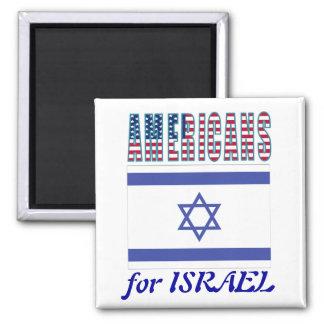 Americanos para el imán de Israel