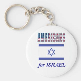 Americanos para el llavero de Israel