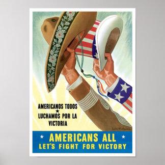 Americanos todos posters