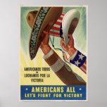 ¡Americanos todos! Poster