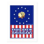 Americanos verdaderos del vino del Brew Postal