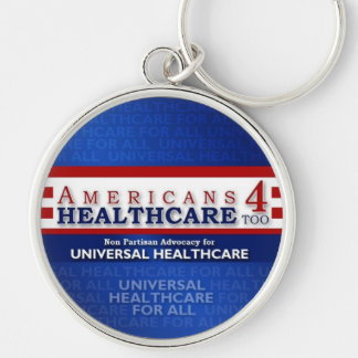 Americans 4 Healthcare Too Keychain