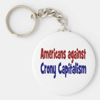 Americans Against Crony Capitalism Key Chain