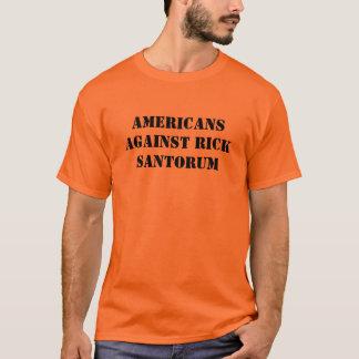 Americans Against Rick Santorum Tee