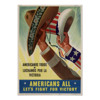 Americans All! Poster
