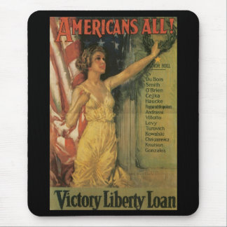 Americans All World War II Mouse Pad
