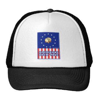 Americans Brew True Wine Hat