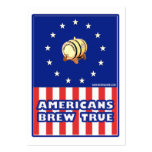 Americans Brew True Wine Large Business Cards (Pack Of 100)