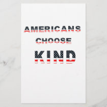Americans choose kind