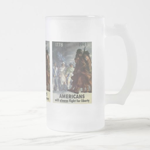 Americans Fight World War 2 Mugs