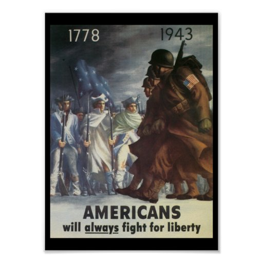 Americans Fight World War 2 Posters