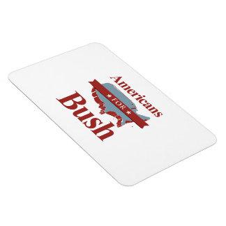 AMERICANS FOR BUSH -.png Rectangular Photo Magnet