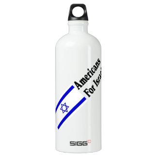 Americans for Israel Aluminum Water Bottle