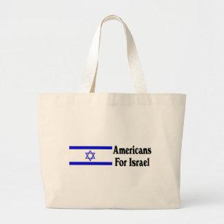 Americans for Israel Jumbo Tote Bag