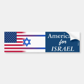 Americans for ISRAEL Bumper Sticker