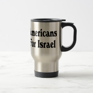 Americans for Israel Travel Mug