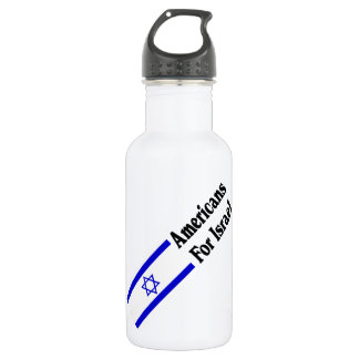 Americans for Israel Water Bottle