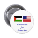 Americans for Palestine Pinback Buttons