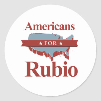 AMERICANS FOR RUBIO -.png Sticker