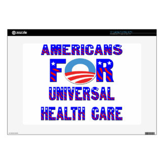 Americans For Universal Health Care Decals For Laptops