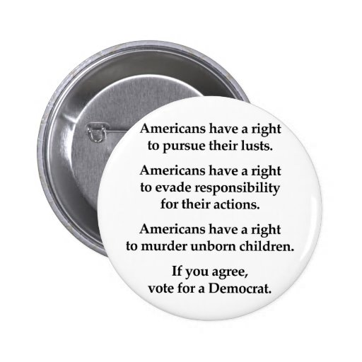 Americans have a right buttons