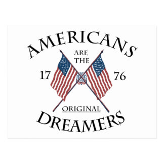 Americans Original Dreamers Postcard
