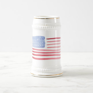 Americans USA Flag Beer Stein