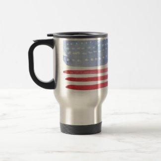 Americans USA Flag mug